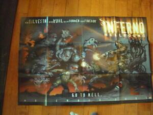 Vintage Inferno Hell Bound Poster 2001 Art Marc Sivestri  2001 ID:66417