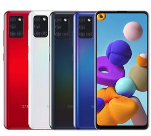 "Samsung Galaxy A21S 32GB/64GB/128GB SM-A217/DS Factory Unlocked 6.5"" Smartphone"