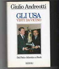 giulio andreotti ronald reagan bush democrazia cristiana 1°edizione autografata