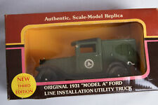 Yorkshire Co. 1931 Ford Model A Bell Telephone Line Installation Truck 1:25