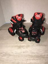 New listing Roller Derby Skates Adjustable Size Colors Black And Red