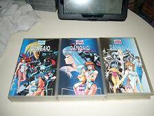 VHS DANGAIO COMPLETO ANIME INEDITO DVD MANGA  DYNAMIC YAMATO OAV OVA HENTAI RARO