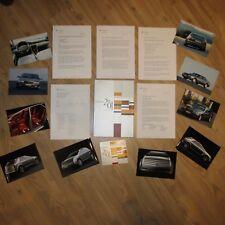 Cadillac Vizon Seville STS 4.6 Northstar V8 Press Pack Kit Media Brochure 2001