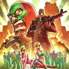 SAINT ROWS Game ART PRINT The Third THQ Luchadores E3 2011 Volition NEW XBox PS3