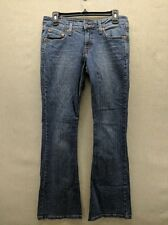 Levis 518 Superlow Jeans Womens Flared Boot-Cut Denim Jeans Nice Juniors 7 EUC