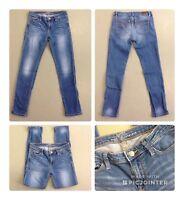 Esprit Medium Rise Jeggings Denim Jeans Hose blau W25 L32 Stretch 1A