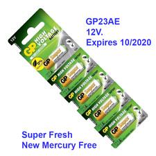 A23 Premium GP 23A Alkaline Batteries 12V USA Seller Pack 5 pc