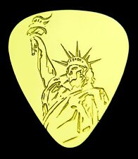 STATUE OF LIBERTY - Solid Brass Guitar Pick, Acoustic, Electric, Bass