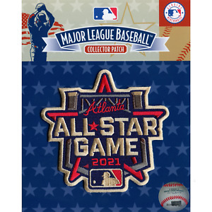 2021 Major League Baseball All Star Atlanta Braves Embroidered Jersey Patch