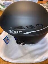 New Briko Boom Evo Matte Black  Ski Helmet Size: Medium