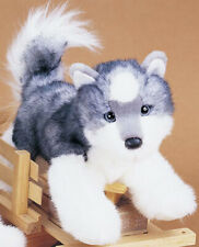 "New Douglas Cuddle Toy Stuffed Plush Siberian Husky Puppy Dog 12"" Soft"