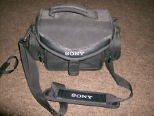 Genuine Sony Handycam Cyber-shot Camcorder Case Carrying Bag