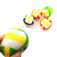 Stress Relief Vent Ball Mini Volleyball Squeeze Foam Ball Kids Outdoor Toy BR