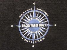 BACKSTREET BOYS 2000 WORLD TOUR LOCAL CREW XL ONE-SIDED SHIRT 100% COTTON RARE