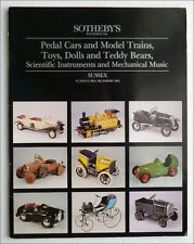JOUETS ANCIENS - TOYS PEDAL CARS MODEL TRAINS TEDDY BEARS - VENTE 3 DEC. 1991