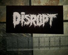 Disrupt Patch - Extreme Noise Terror Disclose Anti-Climax Antisect Amebix Nausea