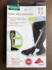 Femmes poids moyen soutien genou voyage//vol//chaussettes 5 couleurs 4-7