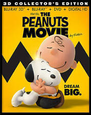 The Peanuts Movie 3D & 2D Blu-ray + DVD + Digital HD (Snoopy, Charlie Brown)