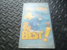 Tom & Jerry - 4 of the Best - MGM pre cert vhs