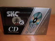 SKC CD 90 super chrome audio cassette from 1992 NEW/Nuovo! MC!!! SMAT!!!