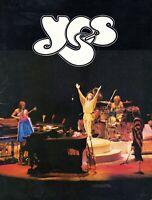 YES 1979 TORMATO U.S. TOUR CONCERT PROGRAM BOOK BOOKLET-JON ANDERSON-EX 2 NMT