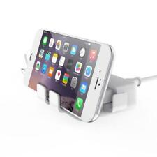 4 Port Fast USB Wall Charger UK Socket Plug 20W For iPhone iPad Samsung HTC New