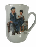 Norman Rockwell Museum Mug Cup The Lighthouse Keeper's Daughter 1982 Vintage