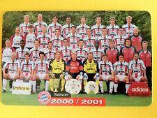 M19/2003 Auflage 2000 Stück Fussball FC Bayern Deutsche Meisterschaft 2000/2001