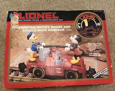 1991 Lionel Mickey Mouse & Donald Duck Disney Handcar 8-87207
