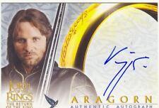 Lord Of The Rings RotK Autograph Card Viggo Mortensen As Aragorn