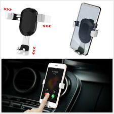 Car Vehicles Air Vent Outlet Mount Phone Metal Holder Stand For 3.6-6 Inch Phone
