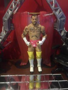 Wwe Mattel Basic CM Punk Wrestling Action Figure