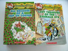 Geronimo Stilton Book Lot Series Thea 13 Books