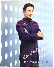 """Dominic Keating as Malcolm Reed Autographed 8""""x10"""" Photo - Star Trek Enterprise"""