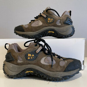 Merrell Chameleon Ventilator Low Kangaroo Woman's Grey Vibram Shoe Boot Sz 9