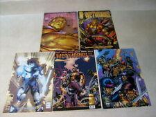 WETWORKS #1,2,3,4,5 IMAGE, 1994, PORTACIO, CHOI, super cool thrills!!!