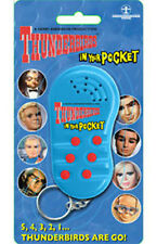 *NEW* Thunderbirds In Your Pocket Talking Keychain Key Ring