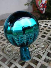 Rosenkugeln  Glaskugeln Gartenkugel  Balkon Rosenkugel 8cm tuerkis blau Garten