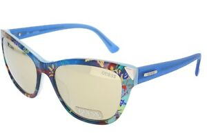 Guess Ladies Sunglasses GU 7398 BL 92C Case Included Ex Display