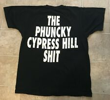 Vintage Original CYPRESS HILL FAN CLUB T-shirt Authentic Rap Hip Hop Tee B-Real