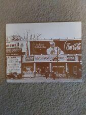 1940's 1950's Vintage COCA COLA lot of 3 Cardboard photos.