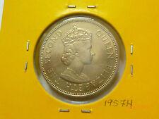 Malaya QEII 20 Cents coin 1957H - BU