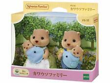 Sylvanian Families doll otter family FS-32 F/S Japan