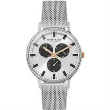 Kenneth Cole Automatic Mens Watch Skeleton Dial Stainless Steel Strap Kc14981004
