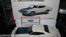 BIANTE / AUTOART 1.18 FORD FALCON XA HARDTOP SUPERBIRD POLAR WHITE COSMIC BLUE