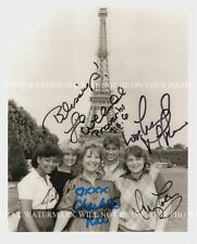 THE FACTS OF LIFE CAST SIGNED AUTOGRAPHED 8x10 RP PHOTO IN PARIS