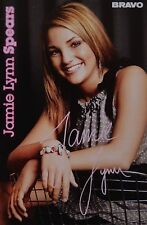Jamie Lynn Spears-AUTOGRAPHE CARTE-Autograph Autographe collection captures