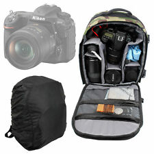 Camouflage Padded Rucksack/Backpack/Case For Nikon D500 Digital SLR Camera