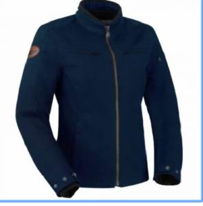 Motorcycle jacket Segura Garrisson Lady blue navy