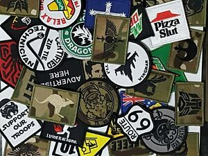#1 Airsoft Gelsoft Morale Patch Gift Bundle